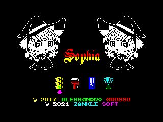Sophia (Start Menu Screen) (Sophia (Start Menu Screen))