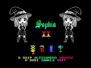 Sophia II (Start Menu Screen) (Sophia II (Start Menu Screen))