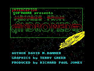 Message from Andromeda (Message from Andromeda)