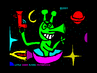 Little Green Flying Muthafucka (Little Green Flying Muthafucka)