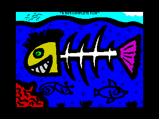 A not Complete Fish