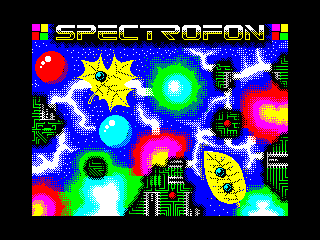 Spectrofon 21 menu