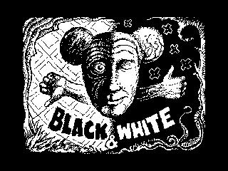 Black and white man (Black and white man)