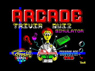 Arcade Trivia Quiz (Arcade Trivia Quiz)