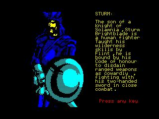Heroes of the Lance - Sturm (Heroes of the Lance - Sturm)