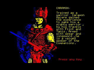 Heroes of the Lance - Caramon (Heroes of the Lance - Caramon)