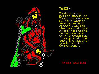 Heroes of the Lance - Tanis (Heroes of the Lance - Tanis)