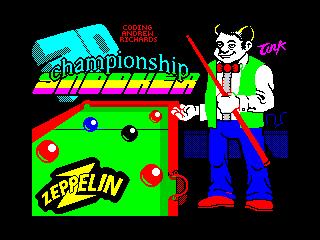 Championship 3D Snooker (Championship 3D Snooker)