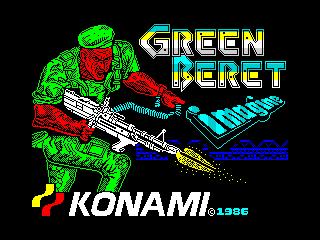 Green Beret (Green Beret)