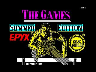 Games - Summer Edition, The (Games - Summer Edition, The)