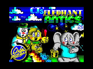 CJ's Elephant Antics (CJ's Elephant Antics)