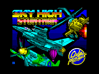 Sky High Stuntman (Sky High Stuntman)