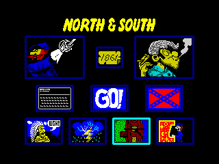 North and South - Menu (North and South - Menu)