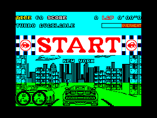 Turbo Out Run start (Turbo Out Run start)