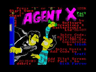Agent X 1&2 Cracktro (Agent X 1&2 Cracktro)