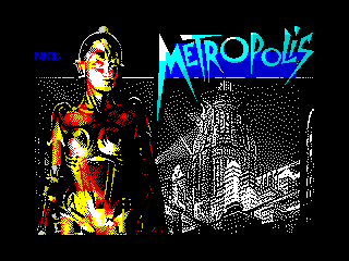 Metropolis-Fan Art ZX Screen (Metropolis-Fan Art ZX Screen)