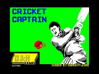 Cricket Captain (Cricket Captain)