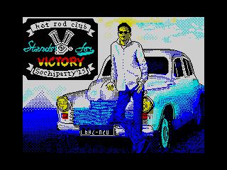 V stands for Victory (V stands for Victory)