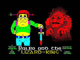 Bulbo and the Lizard-King (Bulbo and the Lizard-King)