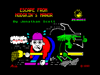 Escape from Hodgkin's Manor (Escape from Hodgkin's Manor)