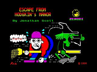 Escape from Hodgkin's Manor (Escape from Hodgkin's Manor)