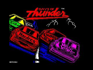 Days of Thunder (Days of Thunder)