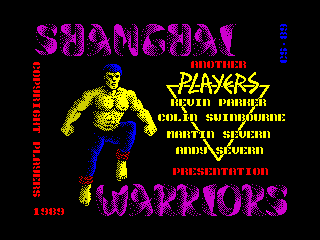 Shanghai Warriors (Shanghai Warriors)