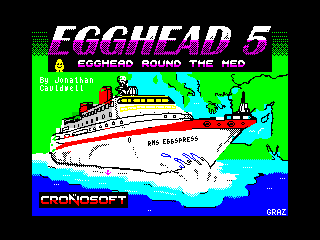 Egghead 5: Egghead Round the Med (Egghead 5: Egghead Round the Med)