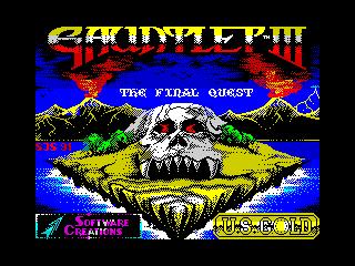 Gauntlet III: The Final Quest (Gauntlet III: The Final Quest)