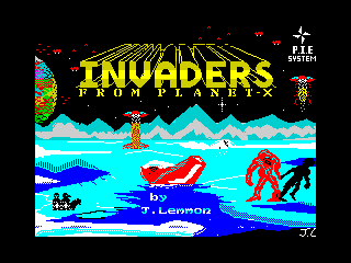 Invaders from Planet X (Invaders from Planet X)