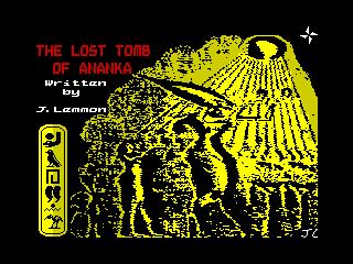 Lost Tomb of Ananka, The (Lost Tomb of Ananka, The)
