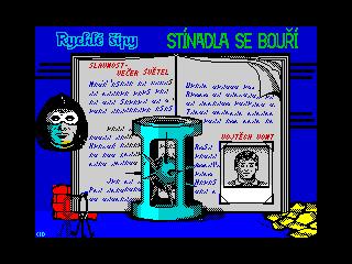 Rychle Sipy 2: Stinadla Se Bouri (Rychle Sipy 2: Stinadla Se Bouri)