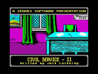 Civil Service II (Civil Service II)