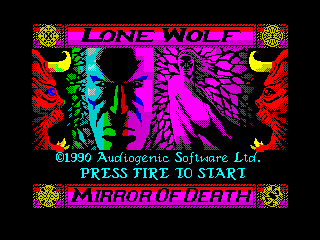Lone Wolf - The Mirror of Death (Lone Wolf - The Mirror of Death)