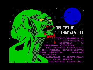delirium tremens (delirium tremens)