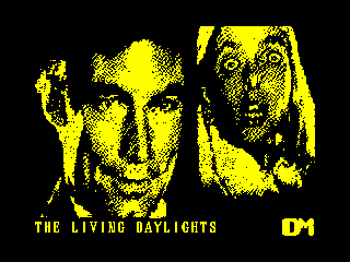 The Living Daylights - The Computer Game (The Living Daylights - The Computer Game)