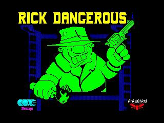 Rick Dangerous (Rick Dangerous)