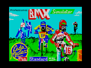 Professional BMX Simulator (Professional BMX Simulator)