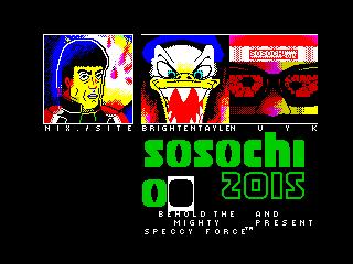 Sosochi 2016 Intro Sequence (Sosochi 2016 Intro Sequence)