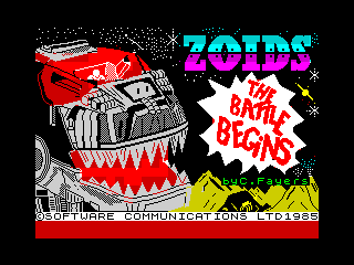 Zoids: The Battle Begins (Zoids: The Battle Begins)