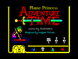 Flame Princess Adventure Time - menu (Flame Princess Adventure Time - menu)