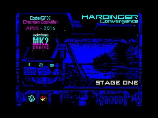 HARBINGER: Convergence - stage one - menu (HARBINGER: Convergence - stage one - menu)