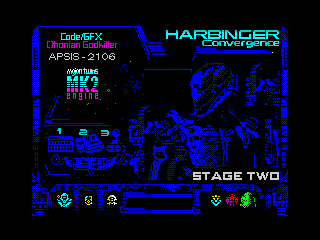 HARBINGER: Convergence - stage two - menu (HARBINGER: Convergence - stage two - menu)