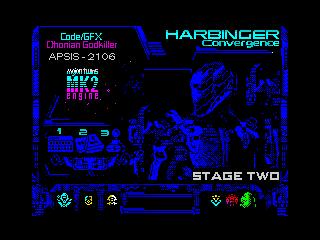 HARBINGER: Convergence - stage two - menu (HARBINGER: Convergence - stage two - menu)