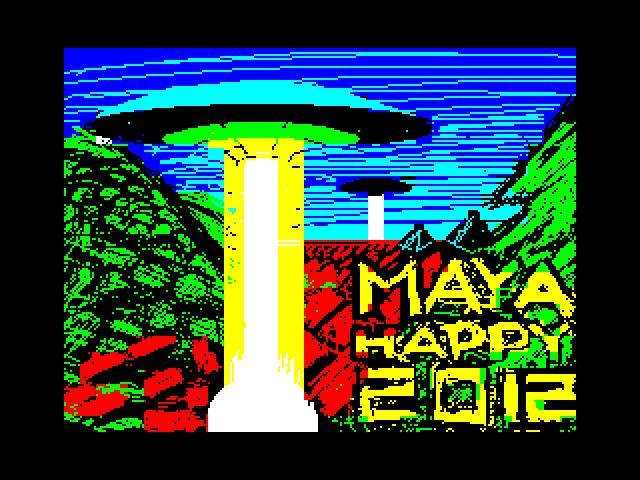 maya wishes you happy 2012