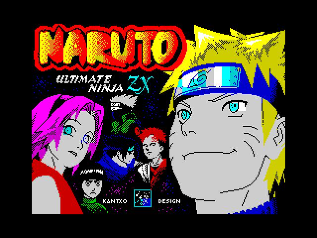 Naruto-Fan Art ZX Loading Screen scr