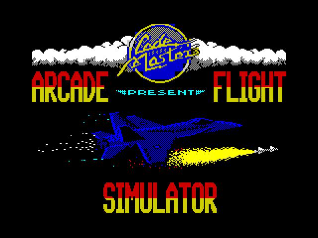 Arcade Flight Simulator