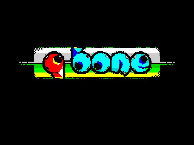 Ancient runes (Q-bone logo)