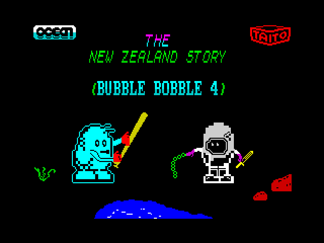 The New Zealand Story - Bubble Bobble 4 [pic 2]