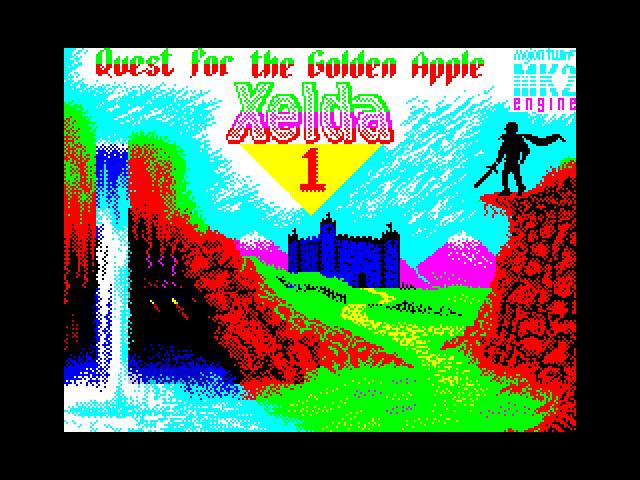 Xelda 1: Quest for the Golden Apple